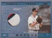 2001 Absolute Memorabilia Tools of the Trade #TT13 Greg Maddux Jsy