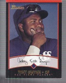 2001 Bowman #27 Tony Gwynn