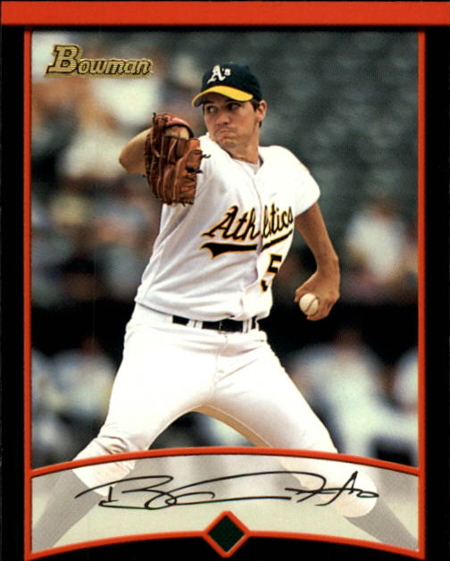 2001 Bowman #125 Barry Zito