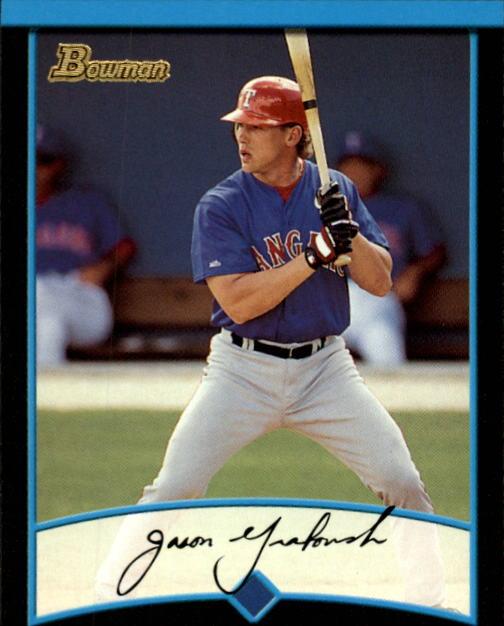 2001 Bowman #234 Jason Grabowski
