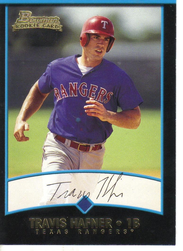 2001 Bowman #256 Travis Hafner RC