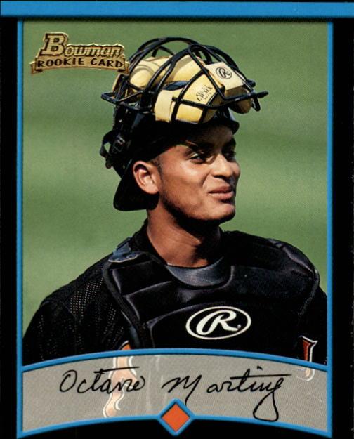 2001 Bowman #327 Octavio Martinez RC