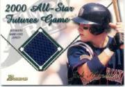 2001 Bowman Futures Game Relics #FGRJH Josh Hamilton