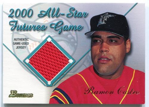 2001 Bowman Futures Game Relics #FGRRC Ramon Castro C
