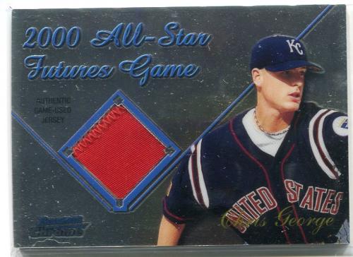 2001 Bowman Chrome Futures Game Relics #FGRCG Chris George