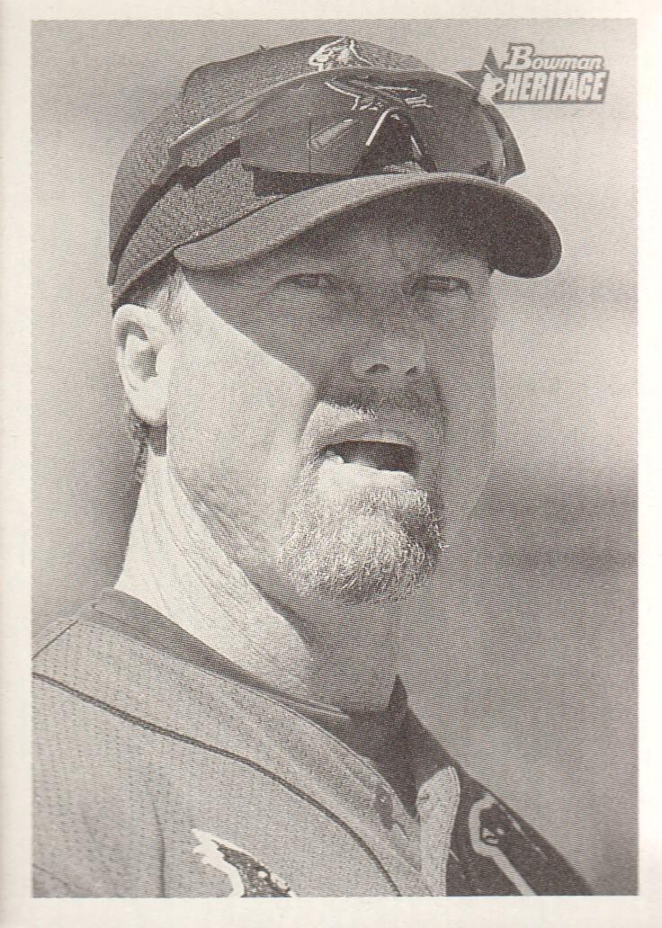 2001 Bowman Heritage #36 Mark McGwire