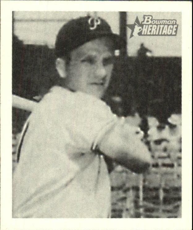 2001 Bowman Heritage 1948 Reprints #1 Ralph Kiner