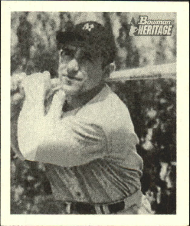 2001 Bowman Heritage 1948 Reprints #4 Yogi Berra