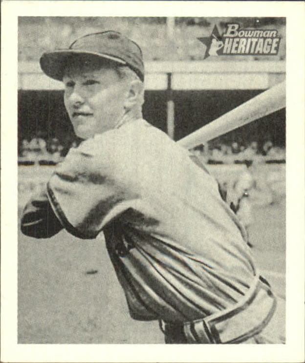 2001 Bowman Heritage 1948 Reprints #11 Red Schoendienst