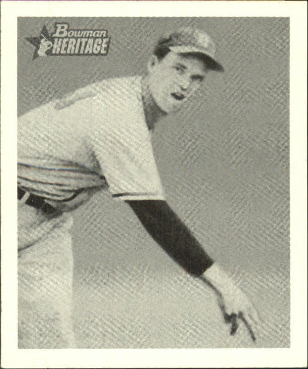 2001 Bowman Heritage 1948 Reprints #13 Johnny Sain