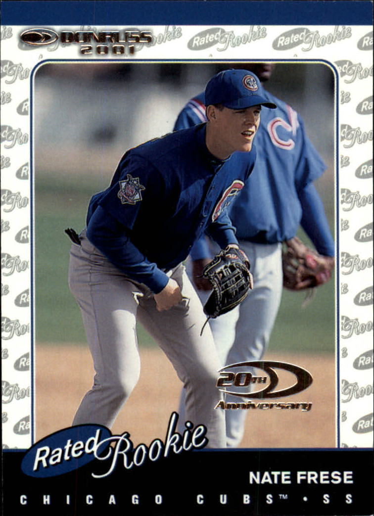 2001 Donruss #163 Nate Frese RR RC