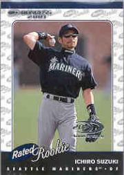 2001 Donruss #195 Ichiro Suzuki RR RC
