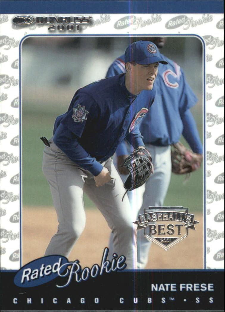2001 Donruss Baseball's Best Silver #163 Nate Frese RR