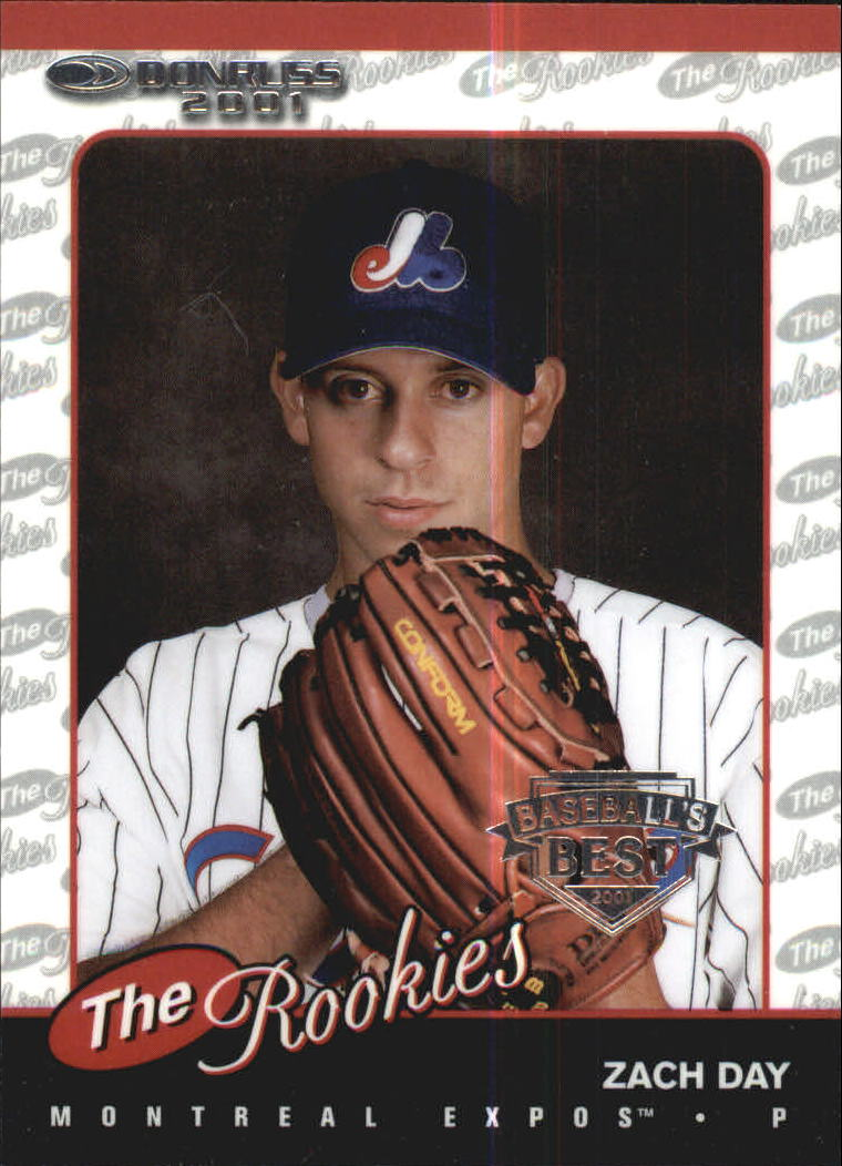 2001 Donruss Baseball's Best Silver Rookies #R18 Zach Day