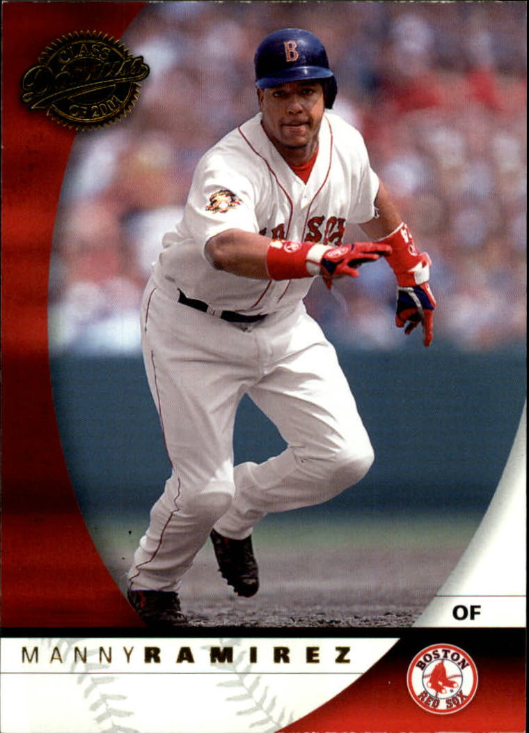 2001 Donruss Class of 2001 #80 Manny Ramirez Sox