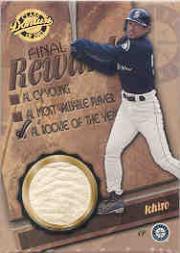 2001 Donruss Class of 2001 Final Rewards #RW5 I.Suzuki ROY Ball/50