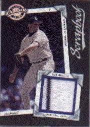 2001 Donruss Class of 2001 Scrapbook #SB20 Roger Clemens/475