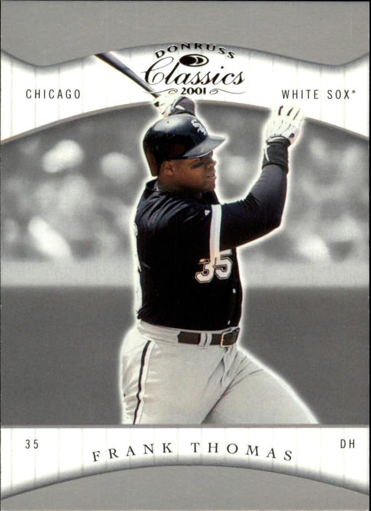 2001 Donruss Classics #7 Frank Thomas
