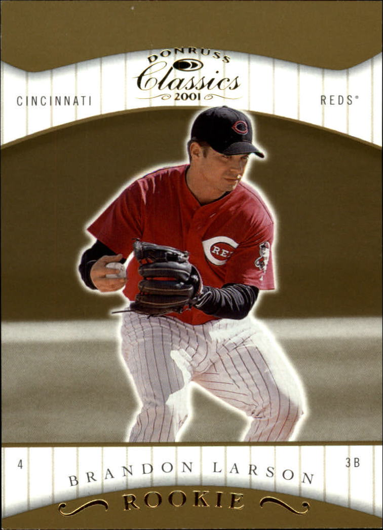 2001 Donruss Classics #116 Brandon Larson SP RC