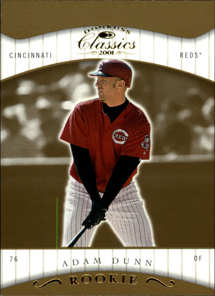 2001 Donruss Classics #119 Adam Dunn SP