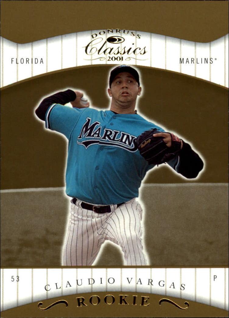 2001 Donruss Classics #134 Claudio Vargas SP RC