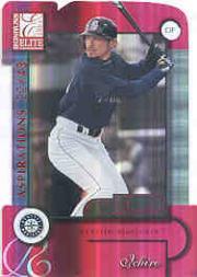 2001 Donruss Elite Aspirations #195 Ichiro Suzuki/49