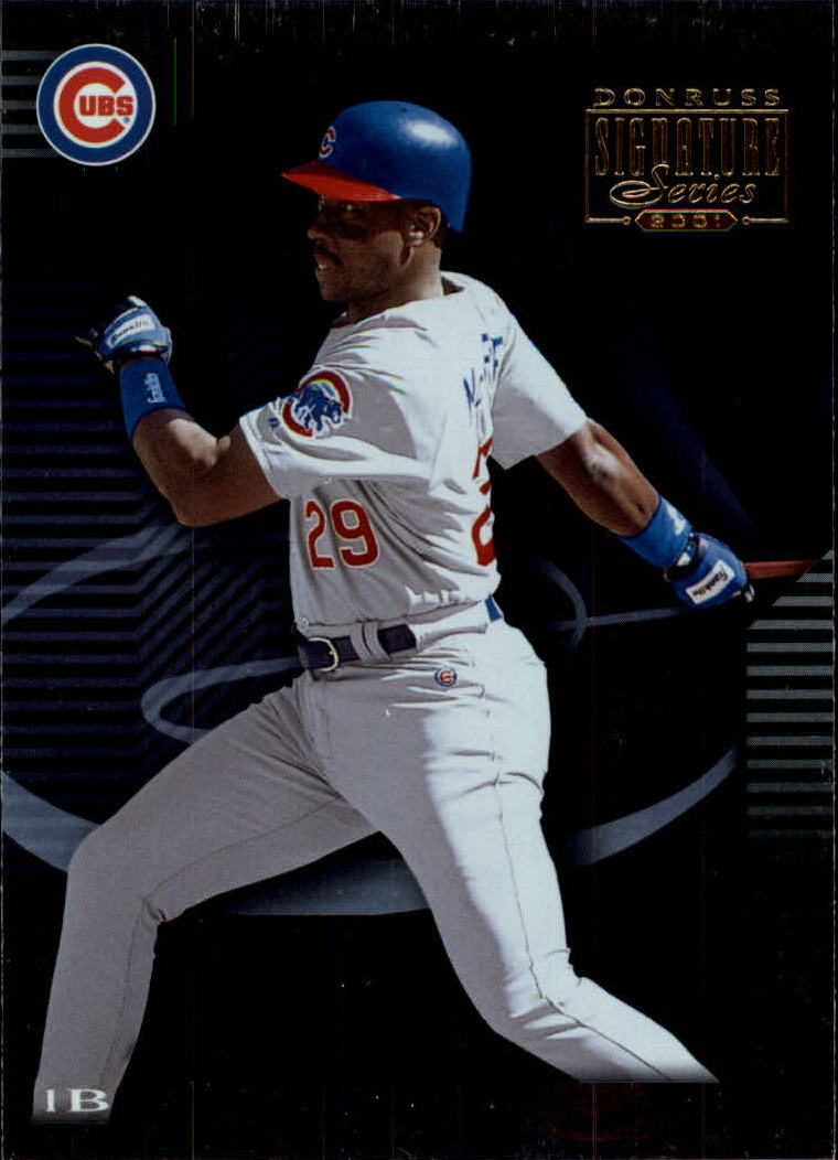 2001 Donruss Signature #38 Fred McGriff