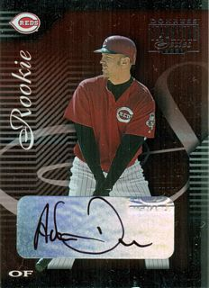 2001 Donruss Signature #138 Adam Dunn AU