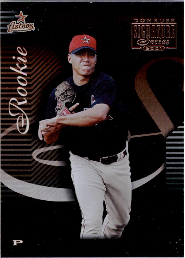 2001 Donruss Signature #220 Carlos Hernandez