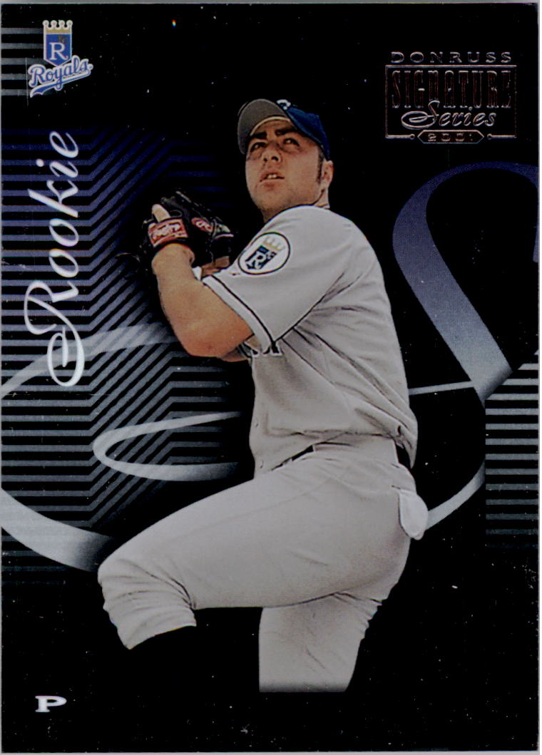 2001 Donruss Signature #240 Brad Voyles RC