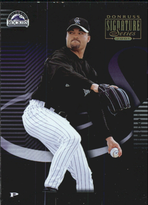 2001 Donruss Signature Proofs #67 Mike Hampton