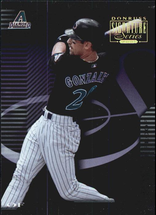 2001 Donruss Signature Proofs #102 Luis Gonzalez