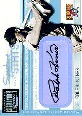 2001 Donruss Signature Stats Masters Series #27 Ralph Kiner