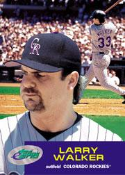 2001 eTopps #9 Larry Walker/420