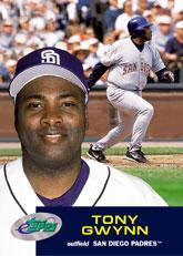 2001 eTopps #12 Tony Gwynn/828