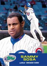 2001 eTopps #17 Sammy Sosa/2487