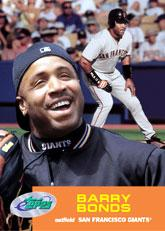 2001 eTopps #22 Barry Bonds/1567