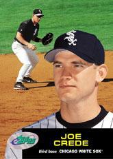 2001 eTopps #34 Joe Crede/1050