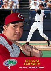 2001 eTopps #39 Sean Casey/537