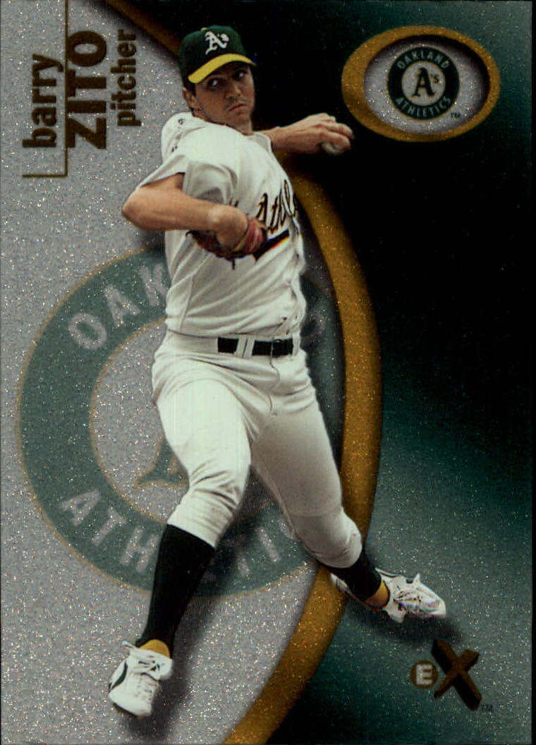 2001 E-X #75 Barry Zito