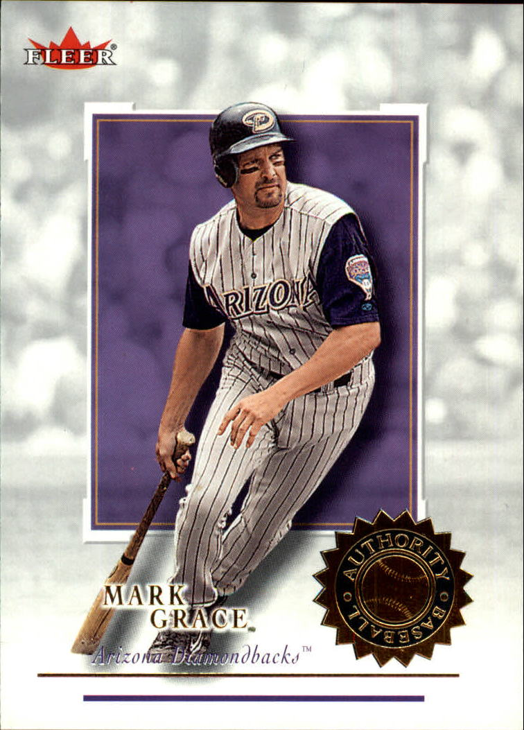 2001 Fleer Authority #1 Mark Grace