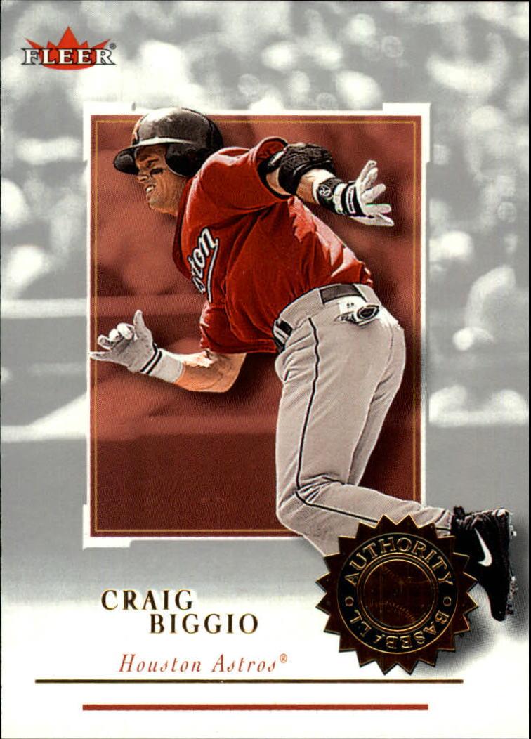 2001 Fleer Authority #19 Craig Biggio