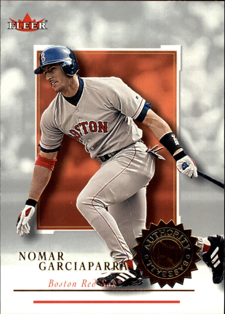 2001 Fleer Authority #25 Nomar Garciaparra