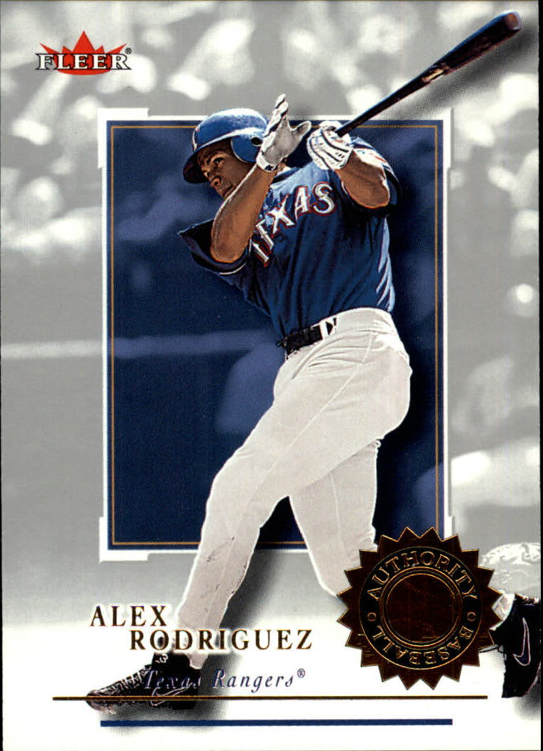 2001 Fleer Authority #32 Alex Rodriguez