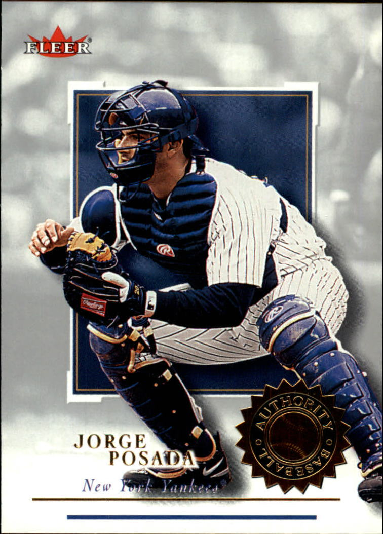 2001 Fleer Authority #43 Jorge Posada