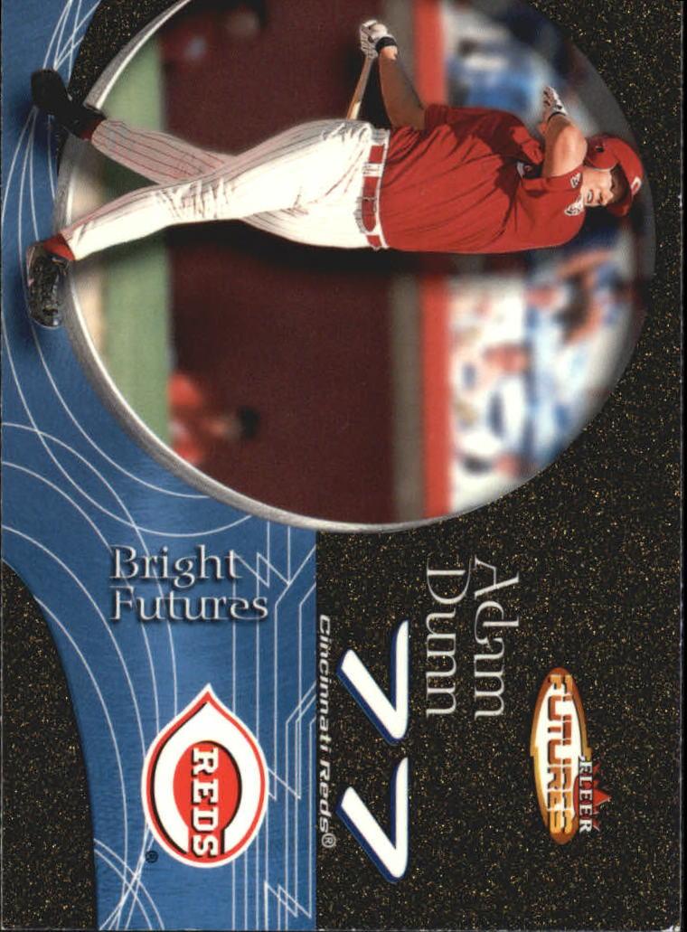 2001 Fleer Futures Black Gold #211 Adam Dunn BF