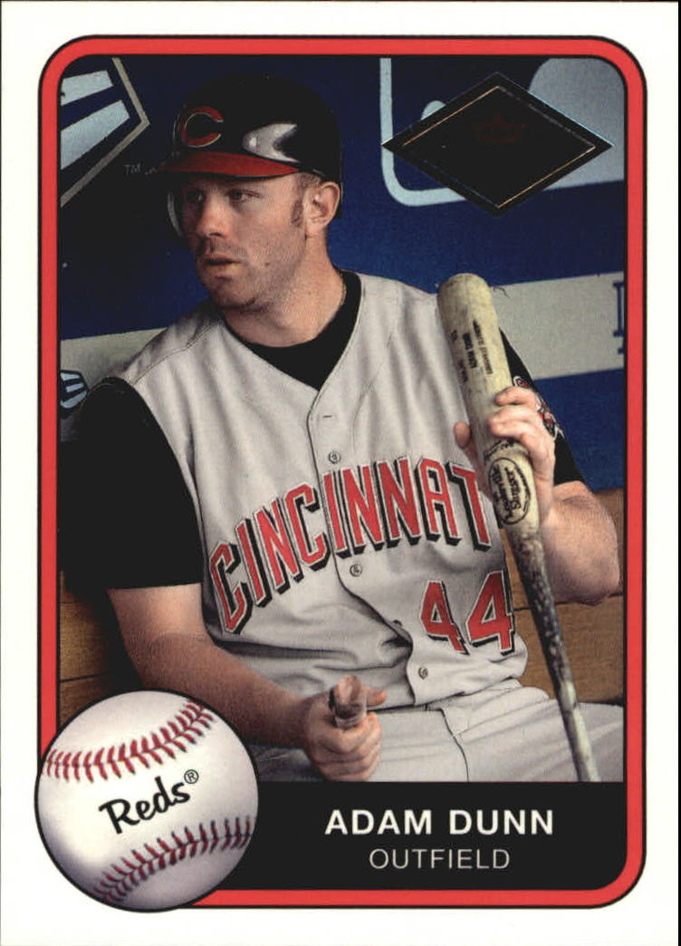 2001 Fleer Platinum Parallel #398 Adam Dunn