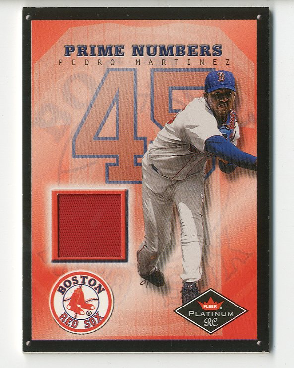 2001 Fleer Platinum Prime Numbers #11 Pedro Martinez