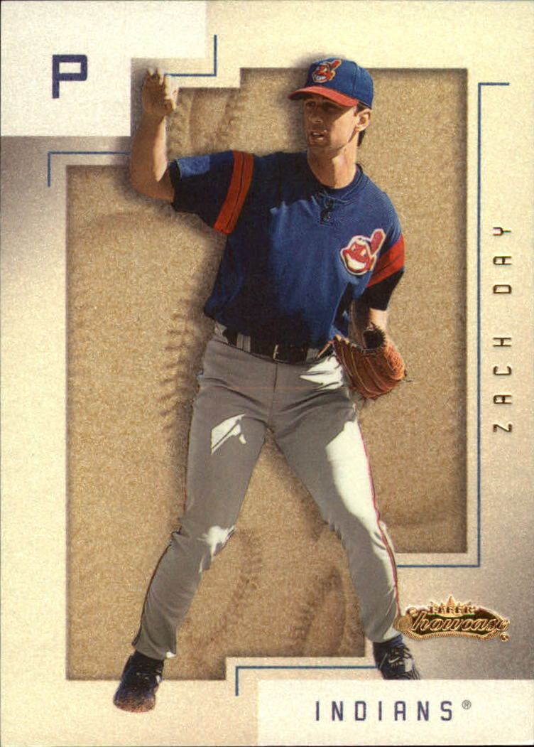 2001 Fleer Showcase #160 Zach Day RS RC
