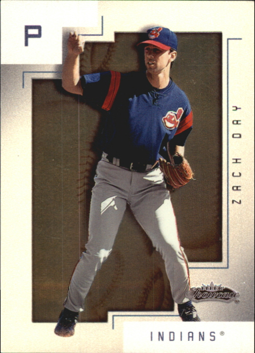 2001 Fleer Showcase Legacy #160 Zach Day RS
